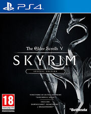 The Elder Scrolls V Skyrim Special Edition PS4 Playstation 4 IT IMPORT BETHESDA