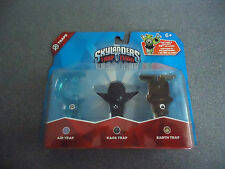 NEW Skylanders Trap Team: Triple Trap Pack: Air, Kaos & Earth       NEW
