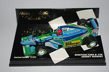Minichamps F1 1/43 BENETTON FORD B194 JOHNNY HERBERT 2222pcs