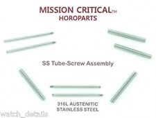 4 Tubes & 4 Screws for Panerai® 40mm  - 2 s  22mm MISSION CRITICAL™ HOROPARTS
