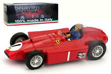 Brumm R076-CH Ferrari D50 1956 World Champion J M Fangio 1/43 With Driver Figure