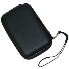 Black Hard Shell Pouch Carry Case Bag For 2.5-inch Portable External Hard Drive