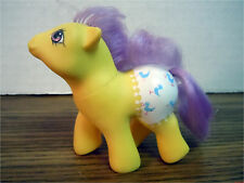 BABY SPLASHES Fancy Pants Ponies My Little Pony G1 1988 Vintage