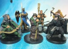 Dungeons & Dragons Miniatures Lot  Elite Character Party !!  s100
