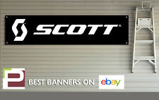 Scott biciclette BANNER PVC firmare per Officina, Garage, Scott MOUNTAIN BIKE