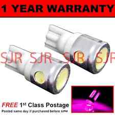 W5W T10 501 XENON PINK 3 LED SMD SIDELIGHT SIDE LIGHT BULBS X2 HID SL101105
