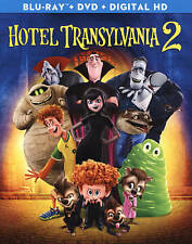 Hotel Transylvania 2 (Blu-ray/DVD, 2016, 2-Disc Set, Ultraviolet) NEW