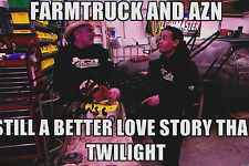 Farmtruck and AZN Signed 4x6 Inch Photo Street Outlaws Street Racing Discovery
