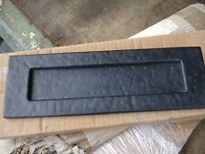 Black Ironwork letterbox/letterplate
