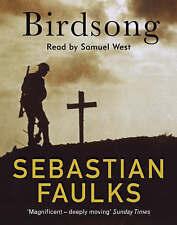 Birdsong by Sebastian Faulks Read by Samuel West (Audio cassette, 1995)