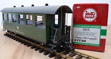 LGB 31730 Personenwagen der DR / Licht / 2x kugelgel. Metallradsätze / OVP