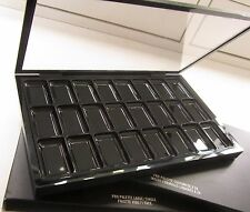 NIB MAC SINGLE PALETTE + INSERT 1 X 24 Foundation Lipstick 100% Original Empty
