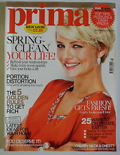 Prima Magazine April 2010. Portion distortion. Why we're all eating too much.