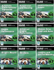 Delmar ASE Test Prep Exam Manual Automotive A1 A2 A3 A4 A5 A6 A7 A8 L1 9 Vol Set
