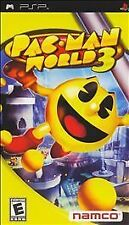 Pac-Man World 3 (Sony PSP, 2005) With UMD and Original Case & Artwork