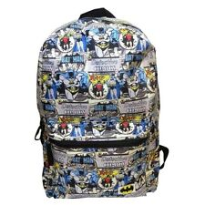 DC Comics Batman Robin Comic Book Style Laptop Bag Backpack - School Official