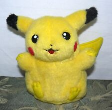"1999 TOMY PIKACHU PLUSH BATTERY OPERATED RARE POKEMON 7"" SOFT PLAY TOY"