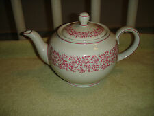 Mozart Bavaria Teapot-Lavender Floral Pattern On White Backing-Stamped Bottom