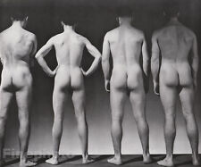 1941/81 Vintage 16x20 MALE NUDE Butt Photo Engraved Duotone ~ GEORGE PLATT LYNES