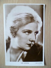 Vintage Film Star Real Photograph Postcard- ANN HARDING, Radio Picture