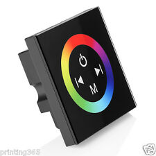 12-24V Touch Panel Controller Dimmer Full Color Changing For RGB LED Strip