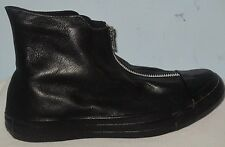 WOMEN'S CONVERSE ALL STAR CT SHROUD HI BLACK/BLACK LEATHER SHOES SIZE 6