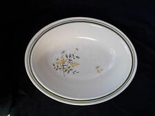 Royal Doulton WILL o' the WISP Oval Open Vegetable Dish. Diameter 10 3/4 x 8 1/2