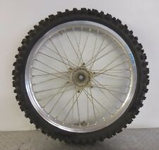 2007 YAMAHA YZ 250 F FRONT WHEEL STOCK EXCEL TAKASAGO 21 INCH RIM TIRE WHEEL ASY