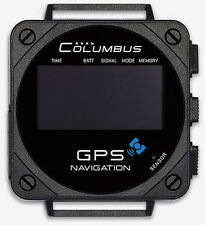 Columbus V-1000 Wearable GPS Data Logger onboard display for Mac Linux and PC