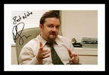 RICKY GERVAIS AUTOGRAPHED SIGNED & FRAMED PP POSTER PHOTO