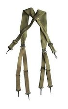 Original WW2 US Army M36 Pattern Khaki Webbing Suspenders