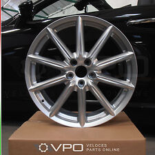 1 x SILVER 19 INCH Ti ALLOY WHEEL FOR ALFA ROMEO 159 BRERA SPIDER REF 156082570