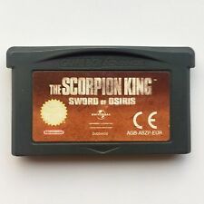 The Scorpion King: Sword of Osiris (Nintendo Game Boy Advance, 2002) - European