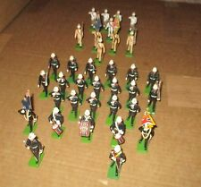 BRITAINS  SOLDIERS...35 ROYAL MARINES..UNBOXED..all metal
