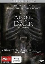 Alone in the Dark (DVD) Sci-Fi Action [Region 4] NEW/SEALED Christian Slater