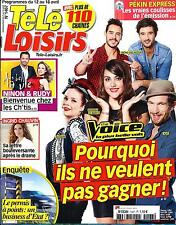 TELE LOISIRS N°1467 12 AVRIL 2014  THE VOICE/ CHAUVIN/ PEKIN EXPRESS/ MARX