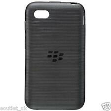 Genuine Official BlackBerry Soft Shell Case Cover For BlackBerry Q5 - Black NEW