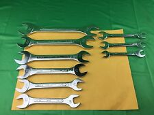 S-k Tools Metric Open End Wrench Set
