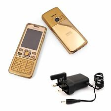 Nokia 6300 Gold Unlocked Camera Bluetooth Classic Mobile Phone UK Stock