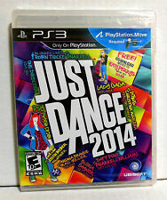 PS3 JUST DANCE 2014 Sony Playstation 3 Video Game Brand New Factory Sealed