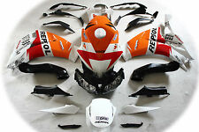 Aftermarket ABS fairing fit for Honda CBR1000rr 2008 to 2012-2014 White repsol 2