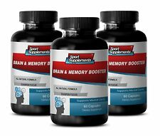 St. John's Wort Herb - Brain & Memory Booster 777mg - With Bacopin Pills 3B