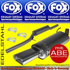 FOX KOMPLETTANLAGE MERCEDES SLK R170 135x80 2.0l 2.0l K 2.3l K
