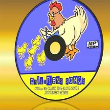 OVER 200 CLASSIC SING ALONG CHILDREN SONGS + NURSERY RHYMES NEW MP3 EDUCATION CD