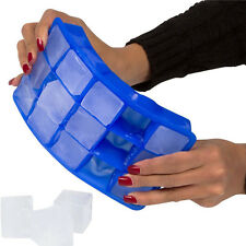 Food Grade 15 Cavity Silicone Ice Cube Tray Large Ice Cubes Small Square Mold