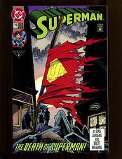 Superman (2nd Series) #75 (4th Print) VF Death of Superman Doomsday Battle