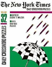New York Times Daily Crossword Puzzles V 32 (NY Times), Eugene Maleska, Good Boo