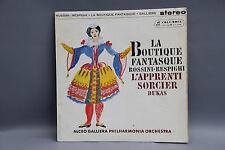 Columbia silver/blue SAX 2419 Rossini Respighi Dukas Galliera Philharmonia UK