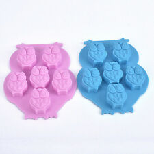 Owl Silicone Cake Decorating Mould Candy Cookies Chocolate Soap Baking Mold SKUK