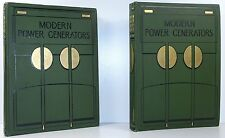 JAMES WEIR FRENCH Modern Power Generators 1ST ED Steam Electric Gas Engines 1908